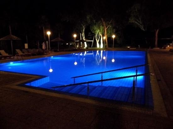 Atlantica Miramare Beach: View of the Adult pool at night