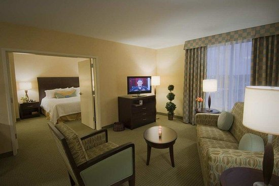 Hilton Garden Inn Dulles North: Suite Living Area