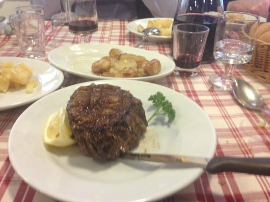 Monastier di Treviso, Italien: Filetto supremo al sangue