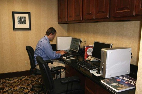 Hampton Inn Duncan: Business Center