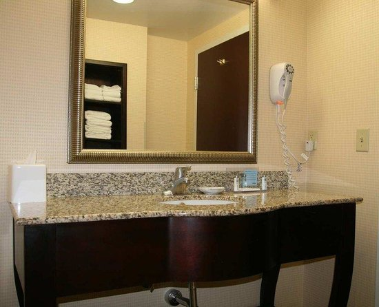 Hampton Inn Galax: Vanity Area