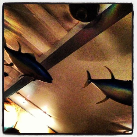 Paia, : The roof on Fish Market