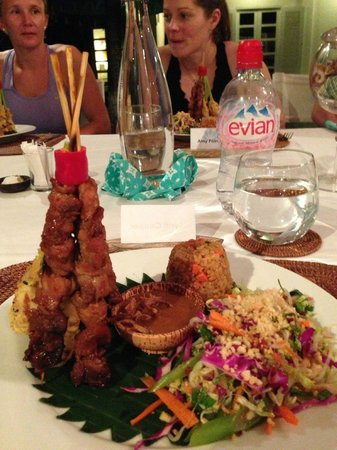 Surf Goddess Retreats - Bali: First meal