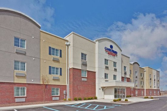 Candlewood Suites Crawfordsville: Hotel Exterior