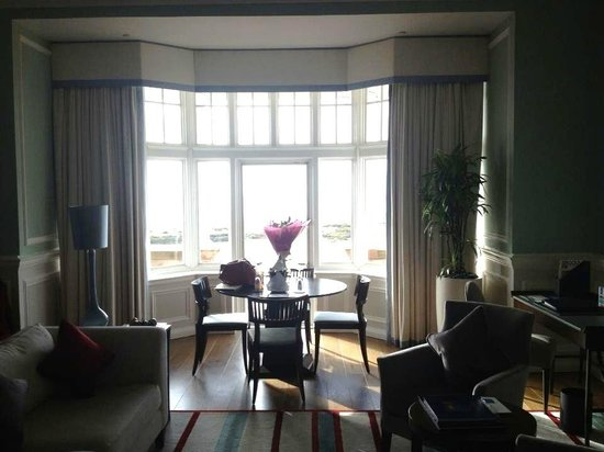Turnberry, UK: Living Area