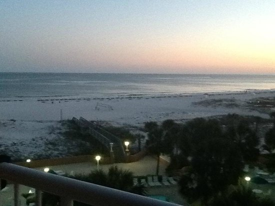 Perdido Beach Resort: View from room 306