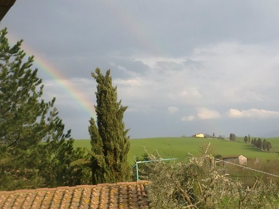 Province of Florence, Italie : l&#39;arcobaleno 