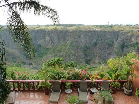 Casa Bella Rita Boutique Bed &amp; Breakfast: The view from the back balcony