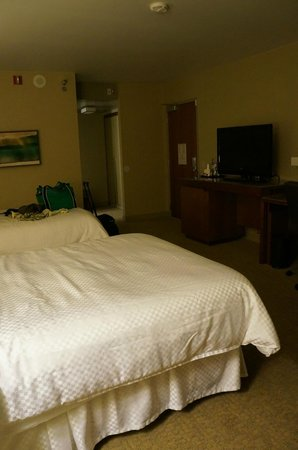 Westin Gaslamp Quarter, San Diego: I arrived quite late and was placed in an ADA room, so this might be larger than a normal room?