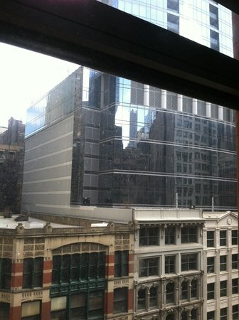 The Silversmith Hotel & Suites: View out our window