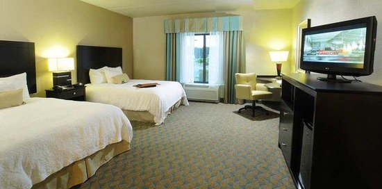 Hampton Inn Gadsden / Attalla: 2 Queen Beds Accessible