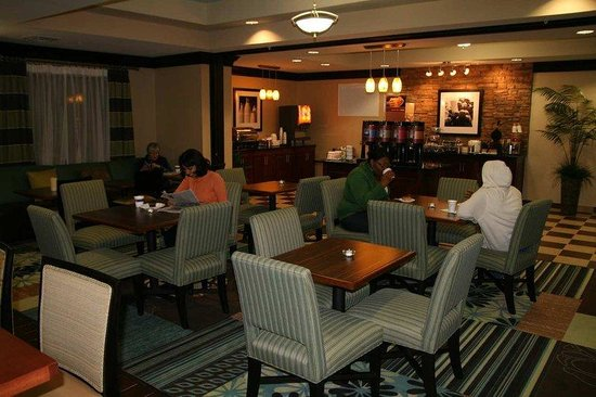 Hampton Inn Monticello, AR: Breakfast Dining Area