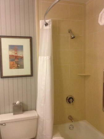 Hilton San Francisco Fisherman's Wharf: bathroom was one bright spot--no complaints