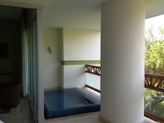 Plunge Pool On Large Balcony Picture Of The Grand Mayan