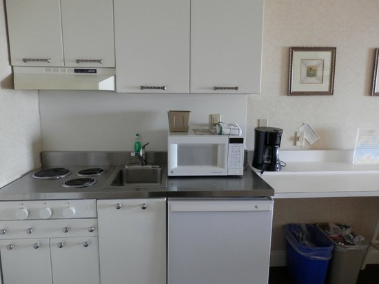 The Grand Hotel: Kitchenette on first floor