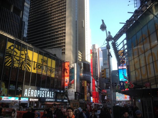 times square picture of hotel mela new york city. Black Bedroom Furniture Sets. Home Design Ideas
