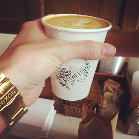 Ace Hotel NYC: Gormet Stumptown coffee