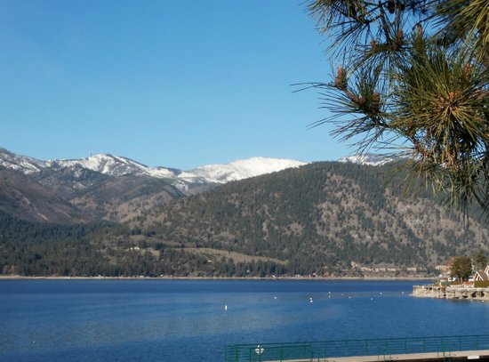 Manson, : Lake Chelan in Early Spring