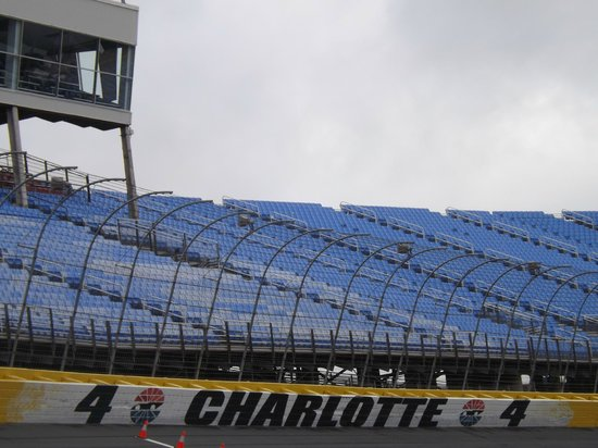Turn 4 of charlotte motor speedway picture of charlotte Charlotte motor speedway hotels nearby