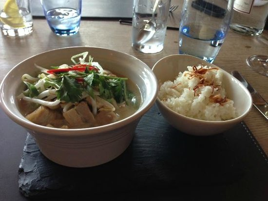 Pork Belly Thai Curry & Jasmine Rice - Picture of The Mole and Chicken ...