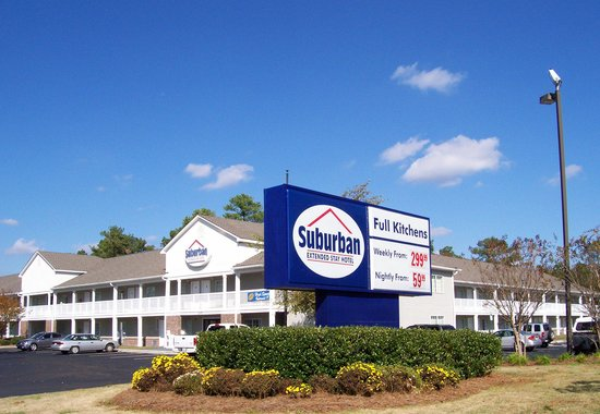 Suburban Extended Stay of Wilmington: Exterior of hotel