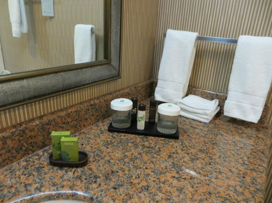 Embassy Suites Anaheim - South: Bathroom counter