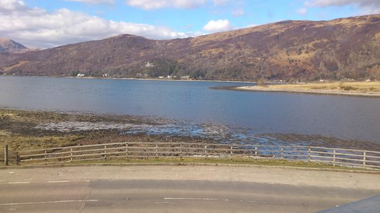Ballachulish Hotel: View from room