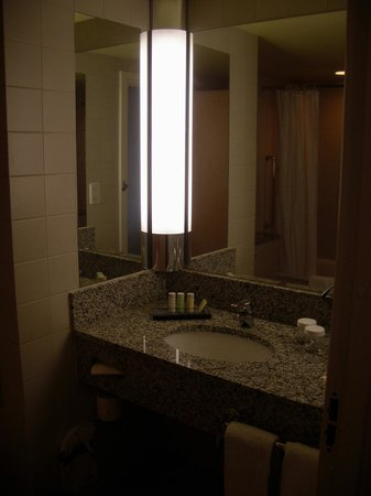 Radisson Blu Hotel, Manchester Airport: The bathroom