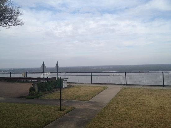 Bluff Top Bed and Breakfast: beautiful views of the Mississippi River