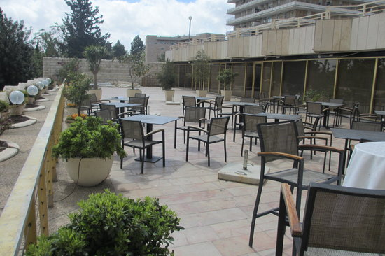 Leonardo Plaza Jerusalem: View of the terrace