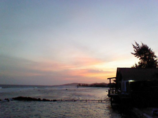Reef House Resort: Sunset!
