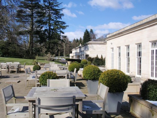 Rudding Park Hotel: The patio
