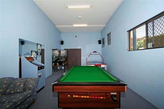 Coolum Beach, Australia: Games Room