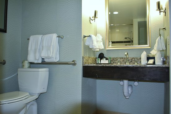 Hilton Springfield: Bathroom