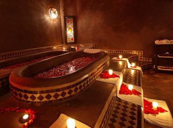 Marrakech massage morocco address phone number spa for Architecture maison arabe