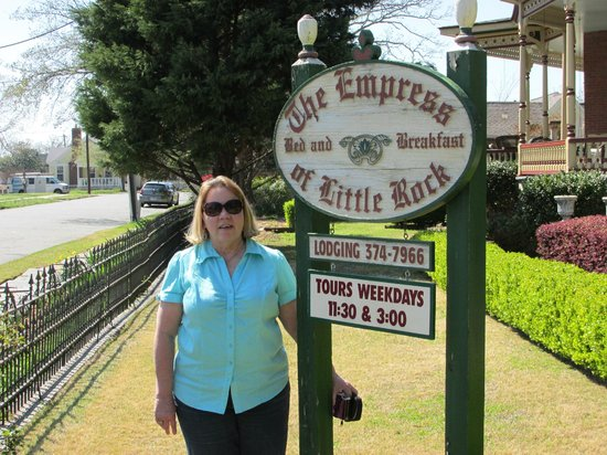 The Empress of Little Rock : Front Sign