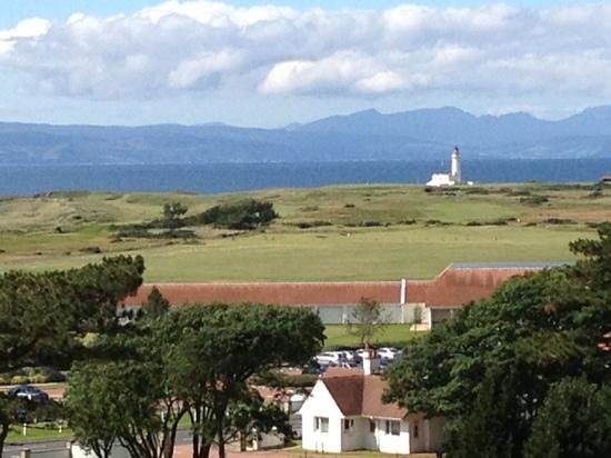 Turnberry, UK: View From the hotel Lobby