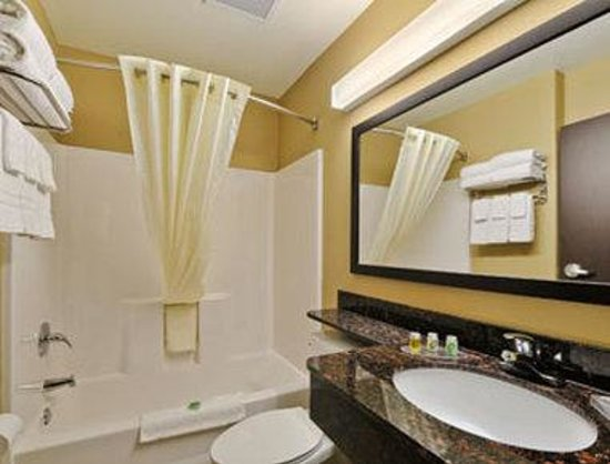 Microtel Inn & Suites by Wyndham San Antonio by SeaWorld/Lackland AFB: Bathroom
