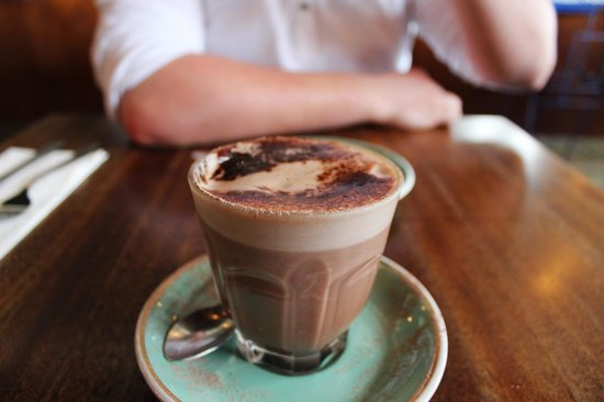 Porirua, New Zealand: Hot Chocolate at Peppermill