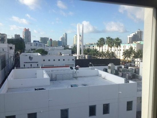 Clinton Hotel South Beach: View from room