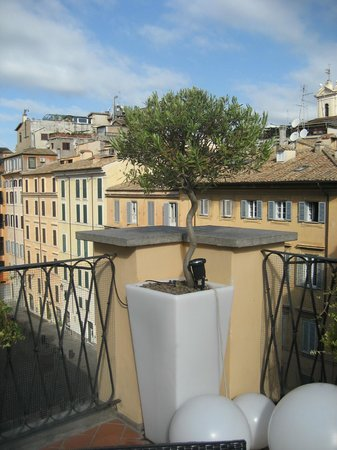 Albergo Cesari: terrace