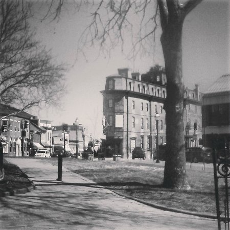 Historic Inns of Annapolis: View of The Maryland Inn from across the street