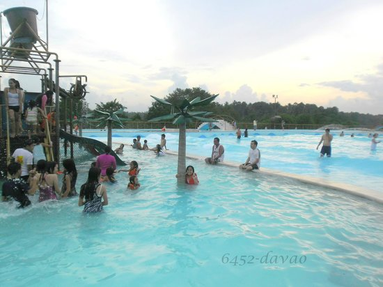 Big Swimming Pool Picture Of D 39 Leonor Inland Resort And Wavepool Davao City Tripadvisor