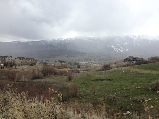 Eden, UT: View from the path right off the condo