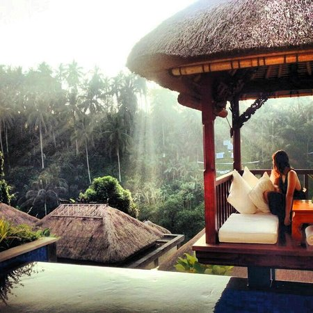 Viceroy Bali: Villa infinity pool (sunrise)