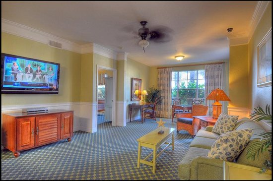 Two Bedroom Living Room Picture Of Calypso Cay Suites Kissimmee Tripadvisor