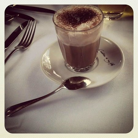 Tower Lodge - Relais & Chateaux: Yummy Hot Chocolate