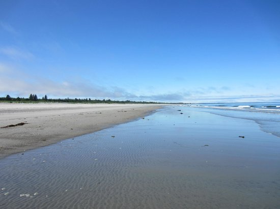 Haida Gwaii / Queen Charlotte Islands, Kanada: Looking back towards Masset, B.C.