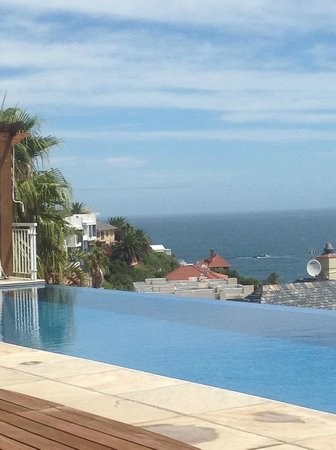 Compass House: pool & view