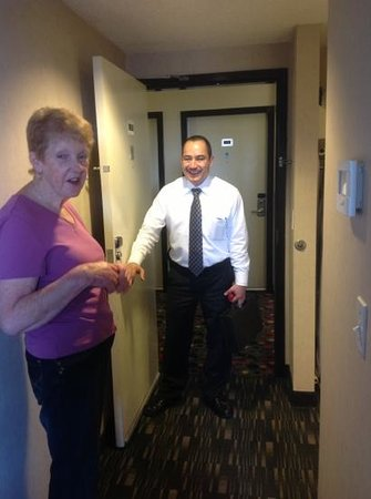 Ramada Plaza West Hollywood Hotel and Suites: judy an jose ..